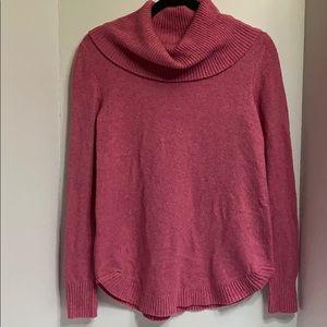 Tahari tunic cowl neck sweater